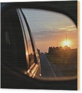 Closer Than They Appear Wood Print