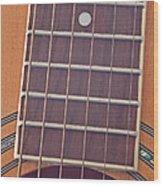 Closeup Of Guitar Art Prints Wood Print