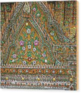 Closeup Of Temple Of The Dawn/wat Arun In Bangkok-thailand Wood Print
