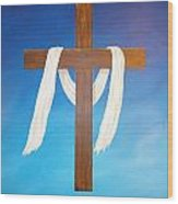 Cloth Of Christ Wood Print