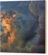 Cloud 20120130-34 2 Wood Print
