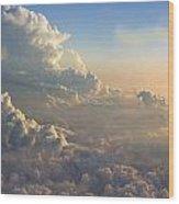 Cloud Bank Wood Print