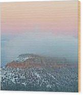 Cloud Blanket Wood Print