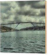 Cloud Bridge Wood Print