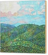Cloud Dance On The Blue Ridge Wood Print