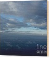 Cloud Horizon Wood Print