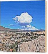 Cloud In Colorado Wood Print