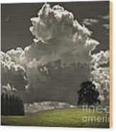 Cloud No.9 Wood Print