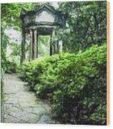 Cloud Pavilion Acanthus Wood Print