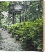 Cloud Pavilion Romantic Hp Wood Print