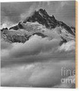 Cloud Rush Over Tantalus Wood Print