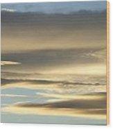 Cloud Series 27 Wood Print