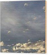 Cloud Series 37 Wood Print