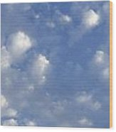 Cloud Series 8 Wood Print