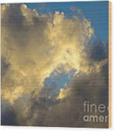 Cloud Series II - L Wood Print