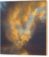 Cloud Series Ll - G Wood Print
