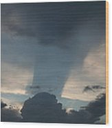 Cloud Shadow Wood Print