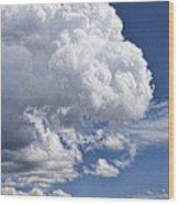 Cloud Study 114 Wood Print