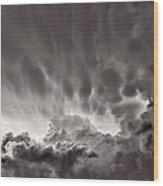 Cloud Study 1382 Wood Print