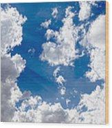 Cloud Study 3852 Wood Print