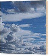 Cloud Ten Wood Print