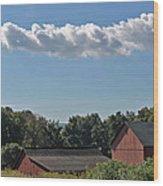 Cloud Train No. 1 Wood Print