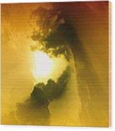 Cloud Whirl Wood Print