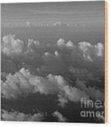 Cloudcaps Wood Print