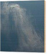 Cloudfall Wood Print