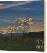 Clouds # 1 Wood Print