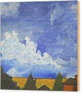 Clouds 1 Wood Print