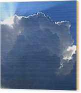 Clouds 1 Wood Print by Maxwell Amaro