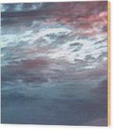 Clouds 11 Wood Print