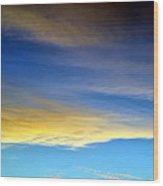 Clouds 301 Wood Print