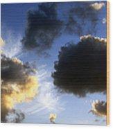 Clouds 5 Wood Print
