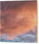 Clouds 6 Wood Print