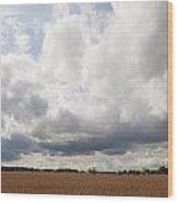 Clouds Abound Wood Print