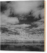 Clouds Above Klamath Wood Print
