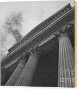 Clouds Above St Pauls Cathedral Wood Print