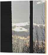 Clouds At Dusk II Wood Print