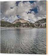 Clouds Form Over Lake Helen Wood Print