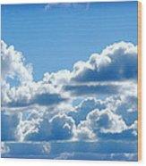 Clouds Of Glory II Wood Print
