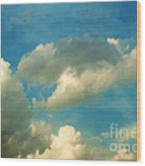 Clouds Of Tomorrow Wood Print