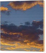 Clouds Of Tranquility. Wood Print
