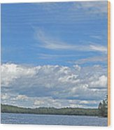 Clouds Over Algoma Wood Print
