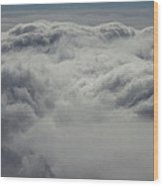 Clouds Over California Wood Print