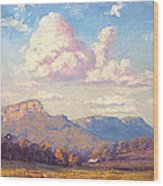 Clouds Over Megalong Wood Print