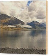 Clouds Over Wakatipu #1 Wood Print