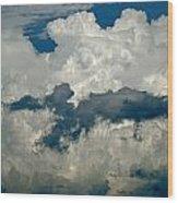 Cloudy Enterprise Wood Print by Marc Levine
