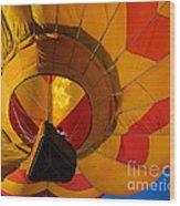 Clovis Hot Air Balloon Fest 3 Wood Print